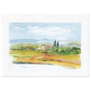 019 - Toscana, Bauernhaus