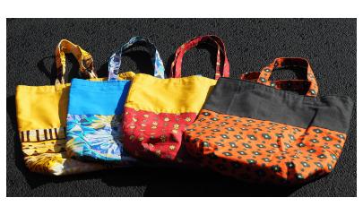 Stofftaschen «Dorita»